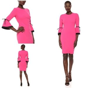 Calvin Klein Cabaret Pink Dress